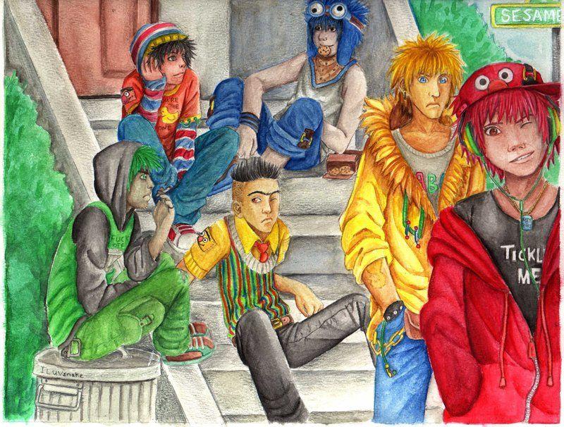 Sesame Street By Thedayissaved On Deviantart Sesame Street Kawaii Anime Cute Comics