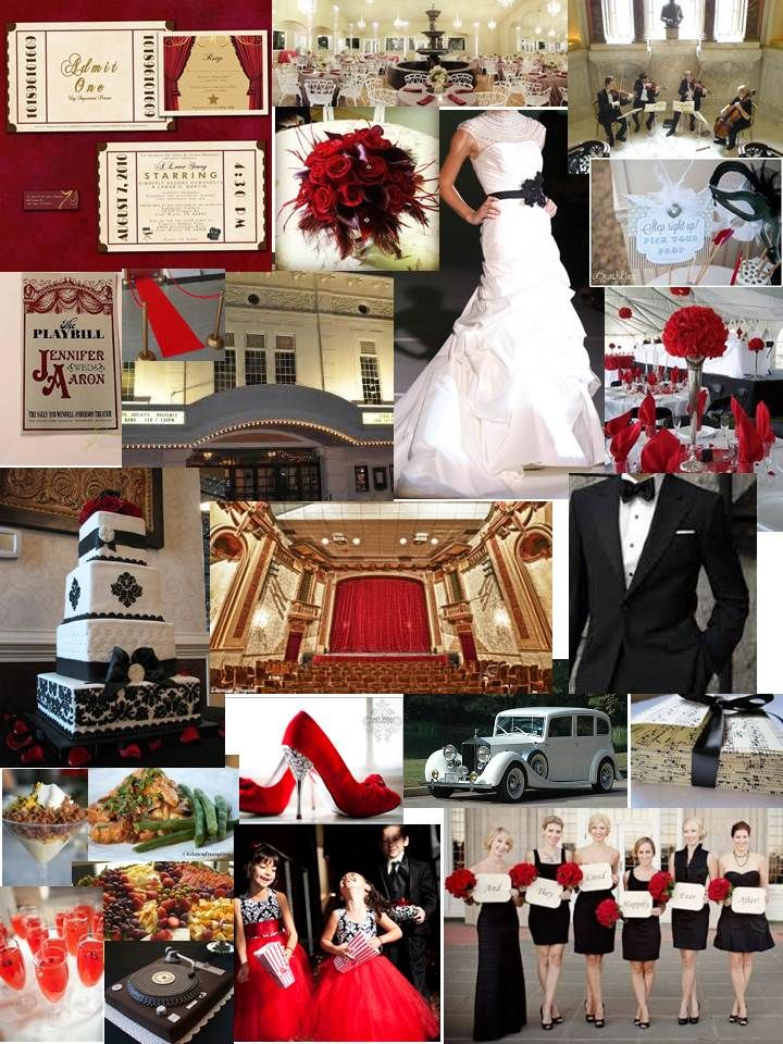 Theatre Theme Wedding