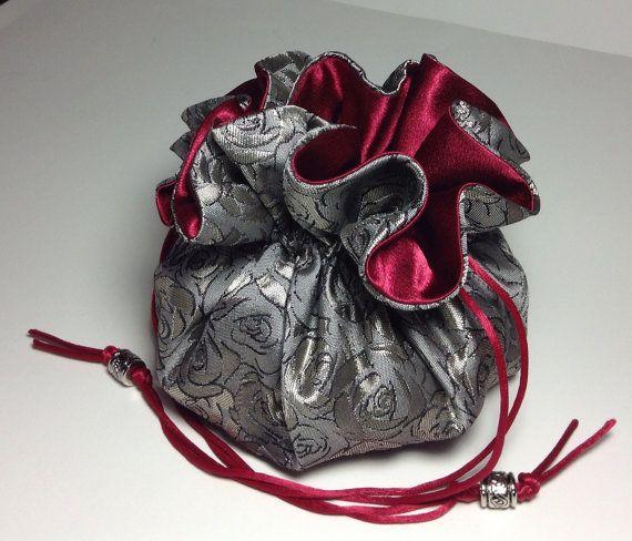 Drawstring Jewelry Pouch Vacation Travel Organizer Bag Jewelry