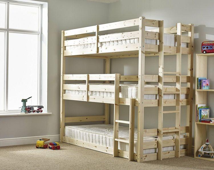 schmal hoch beispiele platzsparend bereinander geschwister zimmer kinderzimmer pinterest. Black Bedroom Furniture Sets. Home Design Ideas