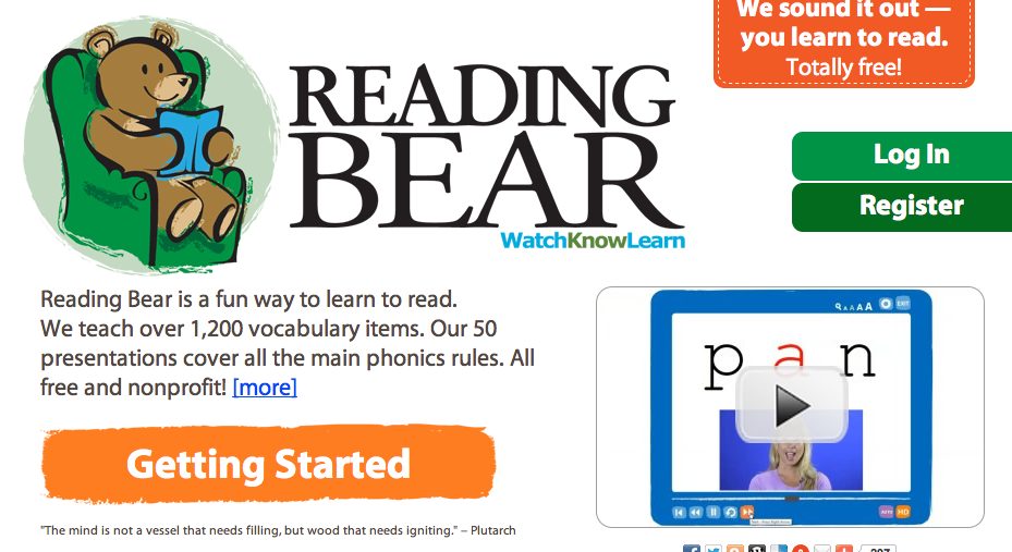 Kindergarten's 3 R's: Respect, Resources and Rants: Reading Bear ...