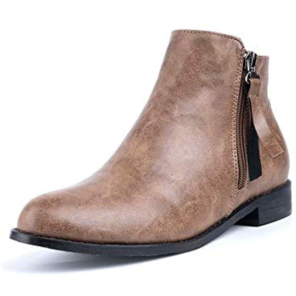 Details zu Damen Stiefel Boots Outdoor Schuhe Shoes Overknee Absatz Stiefeletten gefüttert