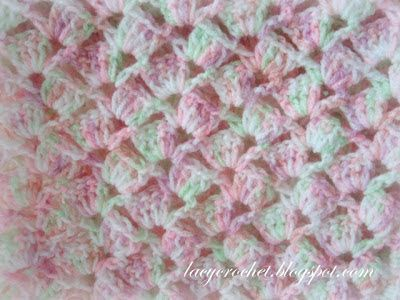 [Free Pattern] This Quick And Easy Crochet Baby Blanket With Adorable Lacy Stitch Is A Big Hit! - Knit And Crochet Daily