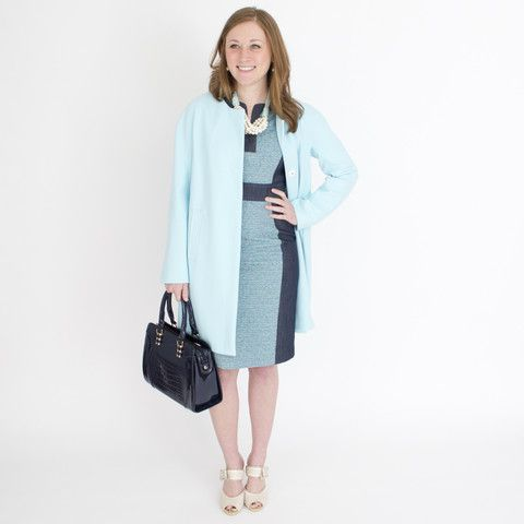 anni kuan makes the most perfect clothing for all women. her fit is impeccable and her fabrics divine! a shift dress never gets old! this one with be...