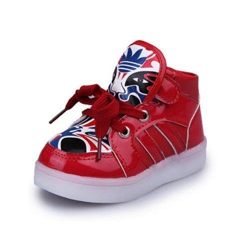 Peking Luminous Kids' Kids Opera Led Shoes O0wndEvEq