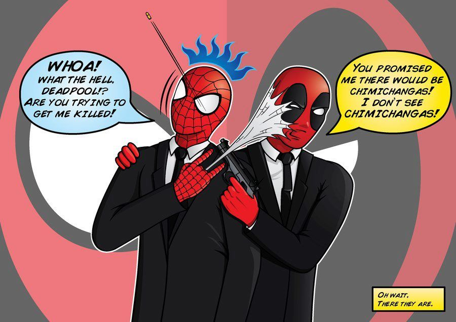 Deadpool And Spiderman Yaoi Fanfiction