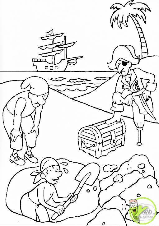coloriage gratuit bateau pirate recherche google - Dessin De Pirate