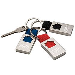 Norwood Promotional Products Product House Keychain Real Estate