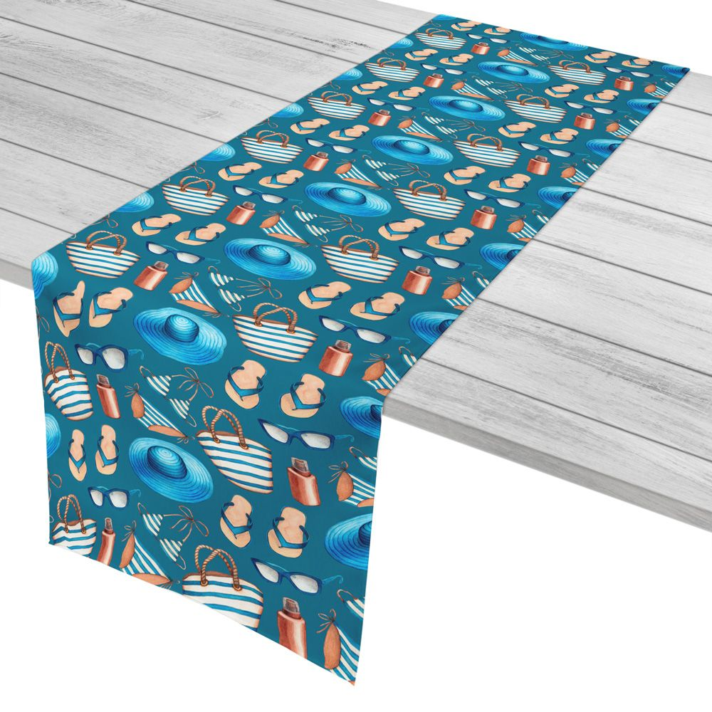 54 Best Coastal Table Runners Nautical Table Runners Tropical Table Runners Beach House Table Runners Ideas Tropical Table Runners Nautical Table Runner Table Runners