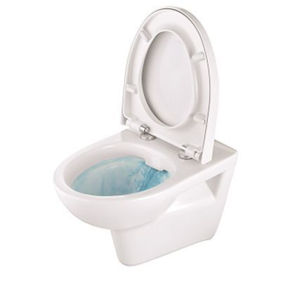 Duschmeister Wand WC spülrandlos Toilette Tiefspüler Duschmeister 400plus