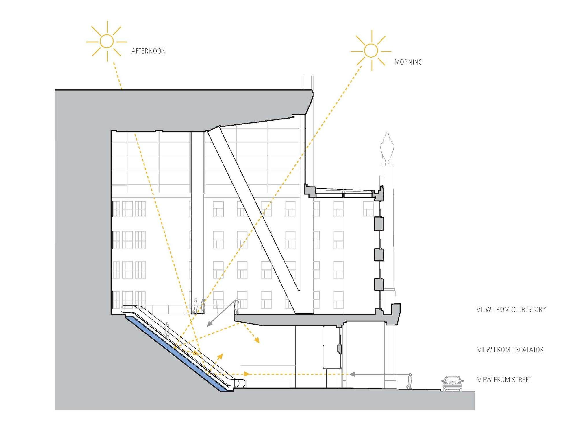 Ice Falls / James Carpenter Design Associates Inc