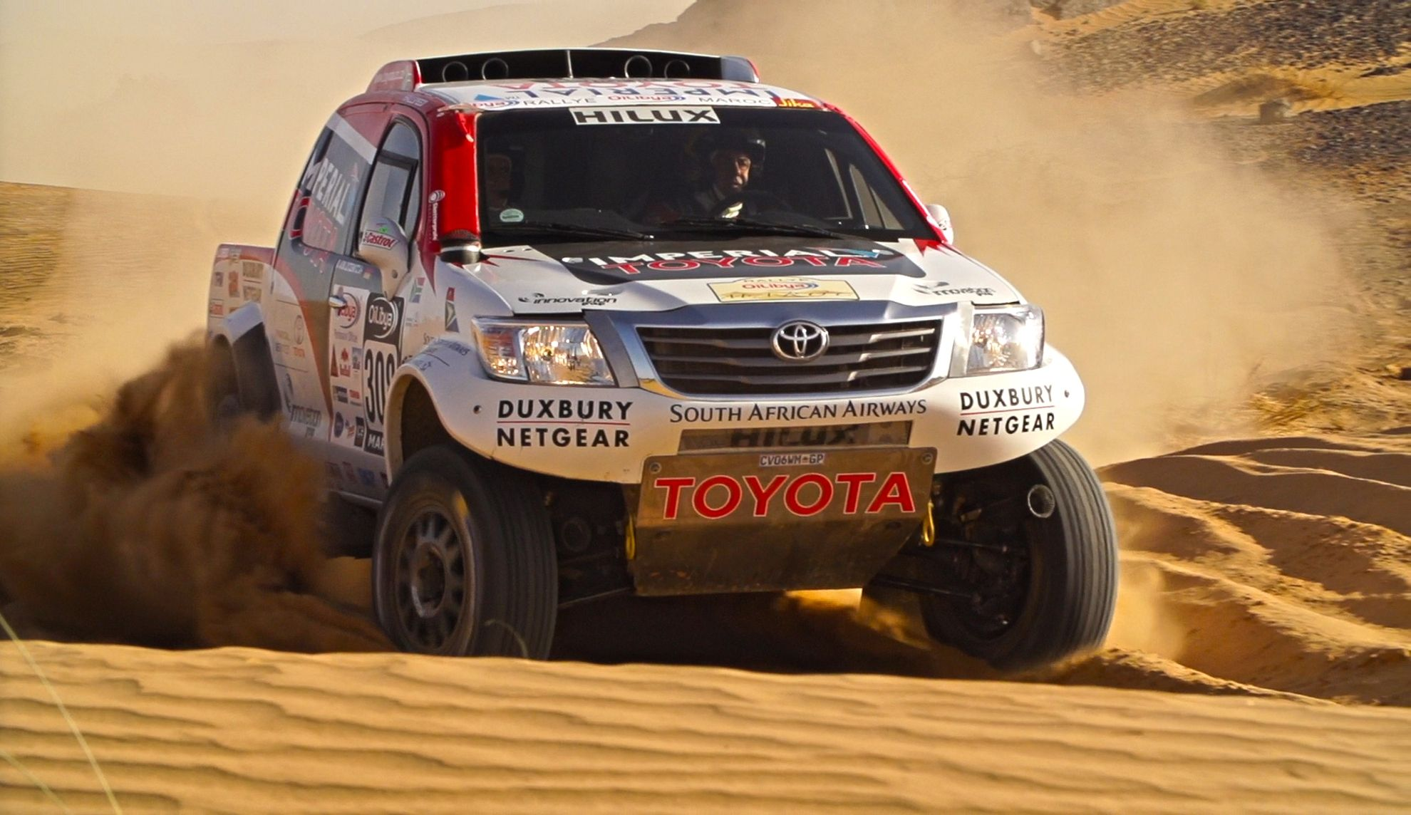 Iveco Dakar 2015 Trucks In South Africa