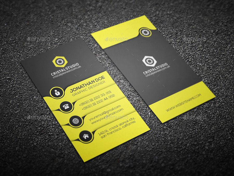 Creative Business Card Vertical Ad Business Sponsored