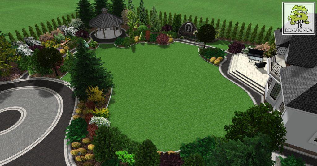 Rytro Dendronica Projektowanie Ogrodow Kielce Krakow Tarnow Golf Courses Field Golf