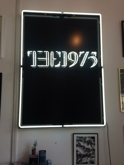 The 1975 Neon Sign Awesome Yoυ Ɑʀe Ϻʏ ☼ Ϻʏ☽ Ɑɴd Ɑʟʟ Ϻʏ ✰'s  The 1975  Pinterest Design Inspiration