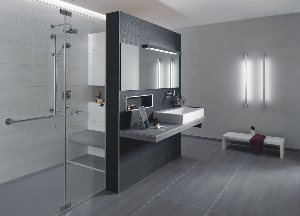 badezimmerl sung modern bathrooms pinterest badezimmer b der und badideen. Black Bedroom Furniture Sets. Home Design Ideas
