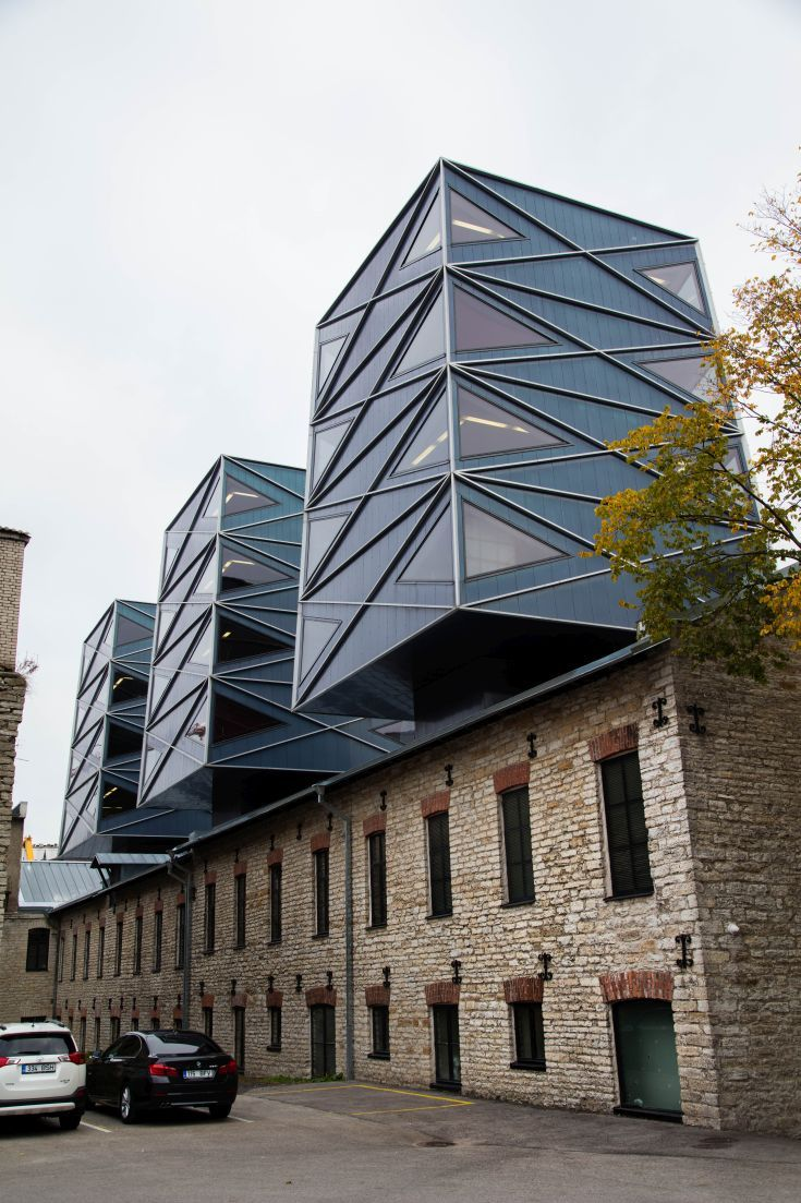 Amazing renovations are being done in Estonia.  Look at this architecture in Tallinn.