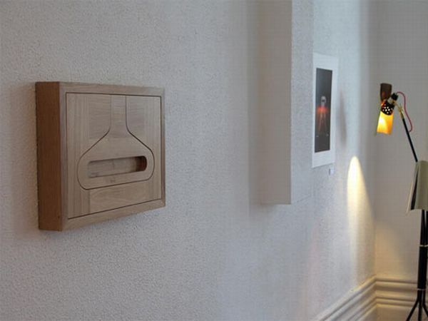 Functional Valet Hanger by Diogo Frias