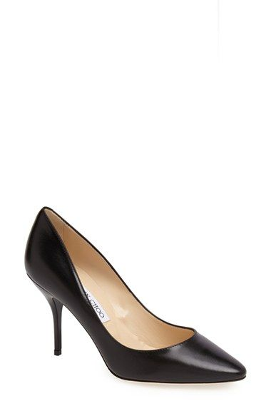 487ad48071 Jimmy Choo 'Mei' Almond Toe Leather Pump (Women) available at #Nordstrom