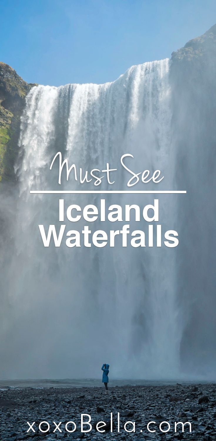 My amazing trip to Iceland to see some epic waterfalls. ||  photo inspiration, travel, destinations, bucket list, photography idea, photography ideas Instagram, Iceland, Iceland goals, Iceland inspo, waterfalls, waterfall chasing, waterfall love, waterfall goals, Iceland travel, travel, wanderlust, arctic travel, arctic, waterfall photos, Iceland trip