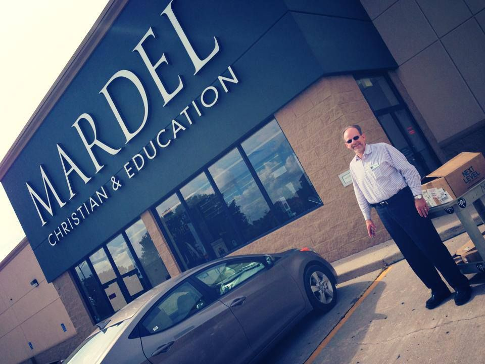 Mardel helps & supports {HOPE} station for #tornado victims by donating #Bibles.
