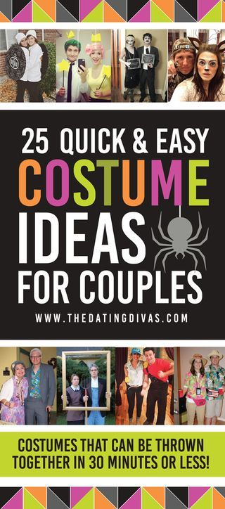 25 Quick Costume Ideas for Couples (The Dating Divas) Costumes - creative couple halloween costume ideas