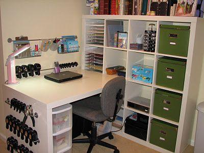 Small Craft Space Craft Room Design Craft Desk Small Craft Rooms