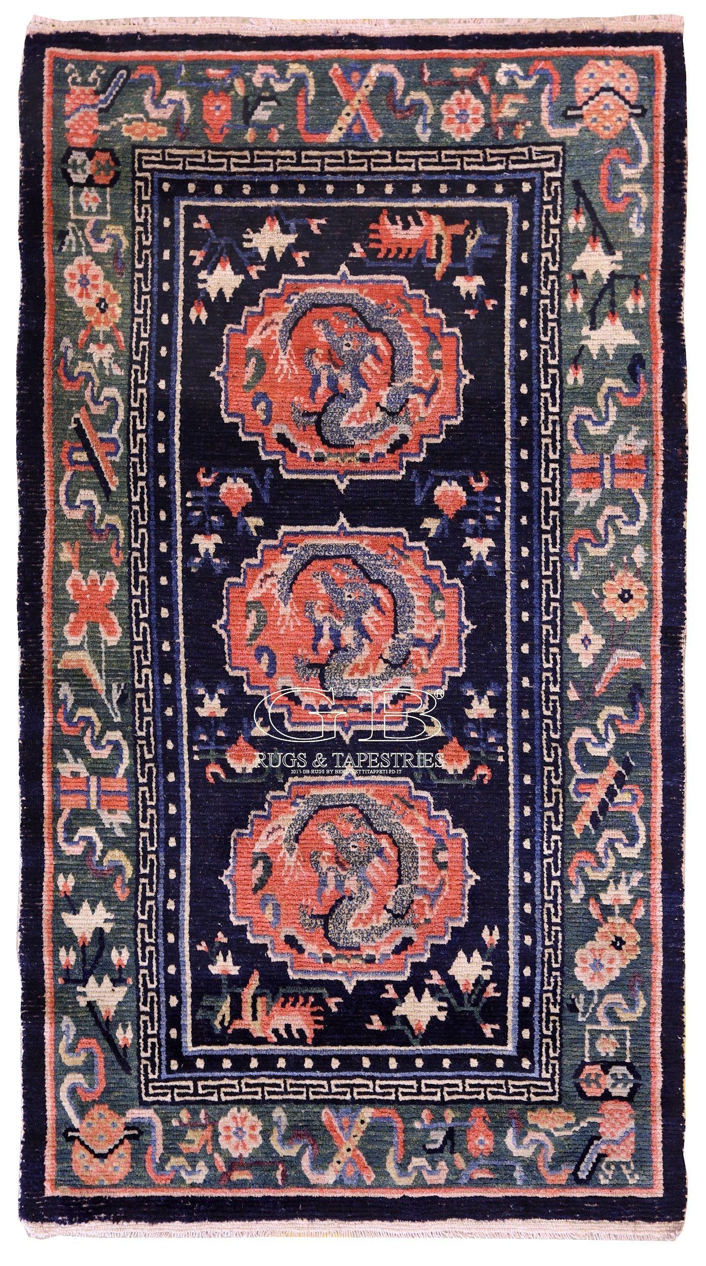 Tappeto tibetano antico (con immagini) Tappeti, Tappeti