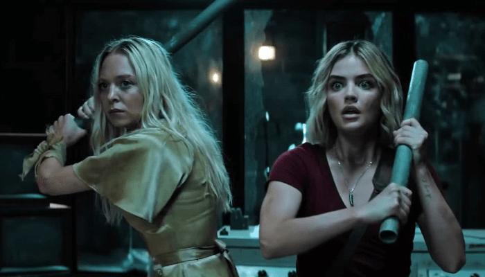 Fantasy Island 2020 Movietrailer 2 Lucy Hale Portia Doubleday Attempt To Escape A Fantasy Turned Nig In 2020 Fantasy Island Movie Trailers The Hollywood Reporter
