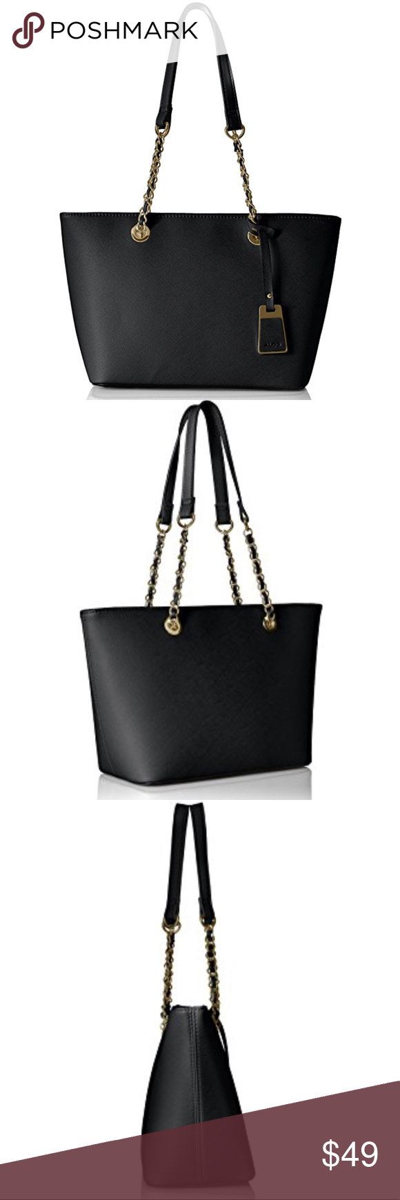 85bd6f672c6 Aldo Jambu Tote synthetic Imported synthetic lining zipper closure 10.5