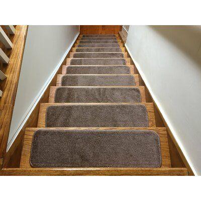 Best Red Barrel Studio Jaxen Slip Resistant Stair Tread Colour 400 x 300