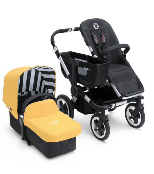 bugaboo donkey special color sunny gold tailored fabric
