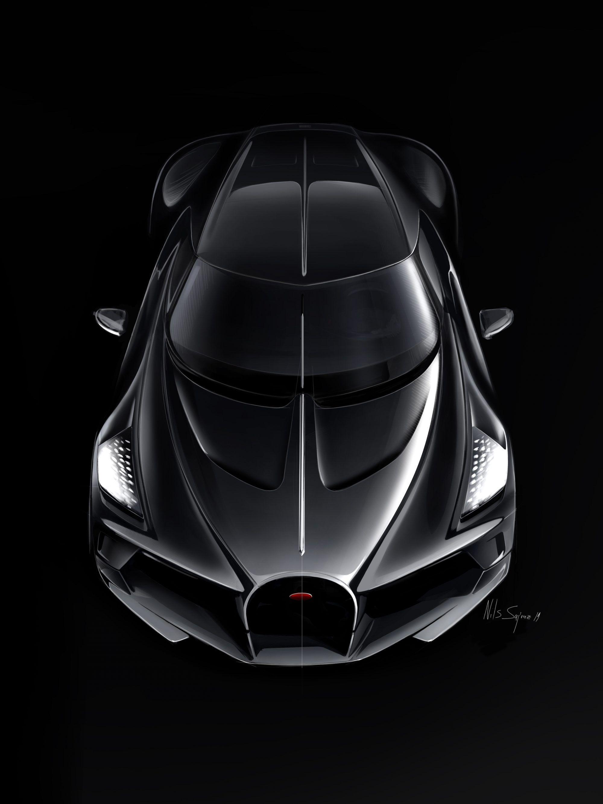 Bugatti S La Voiture Noire The Most Expensive New Car In The World La Voiture Noire Bugatti Sports Cars Luxury