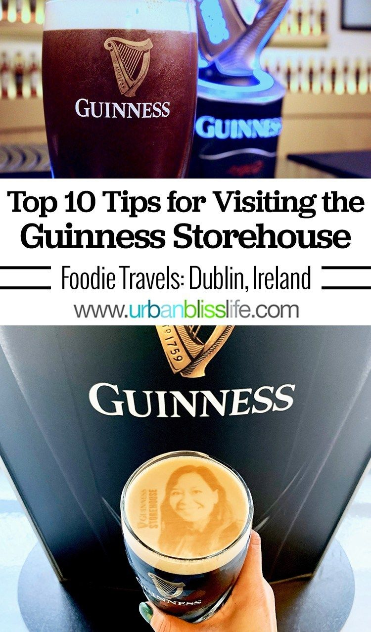 Visiting the Guinness Storehouse