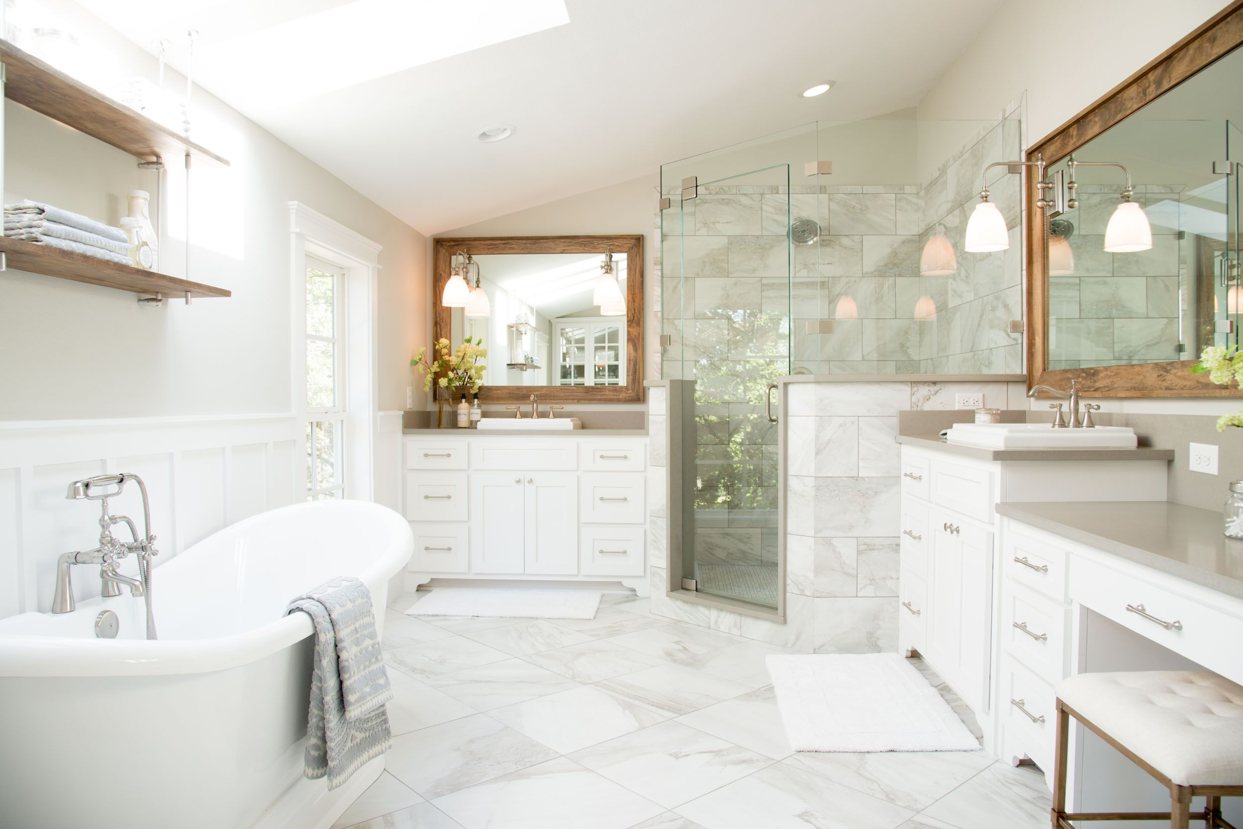 Bathroom Remodels On Fixer Upper season 4 episode 1 | house seasons, joanna gaines and magnolia