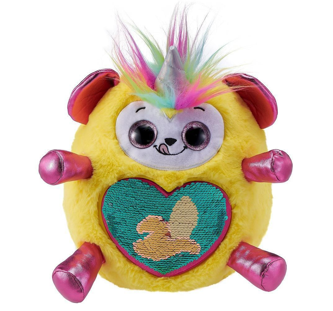 Rainbocorns Sequin Surprise Plush in Giant Mystery Egg by