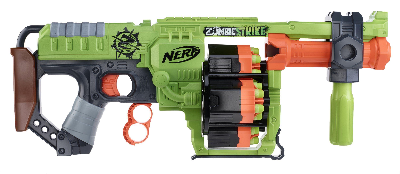nerf zombie strike grenade launcher nerf world now has