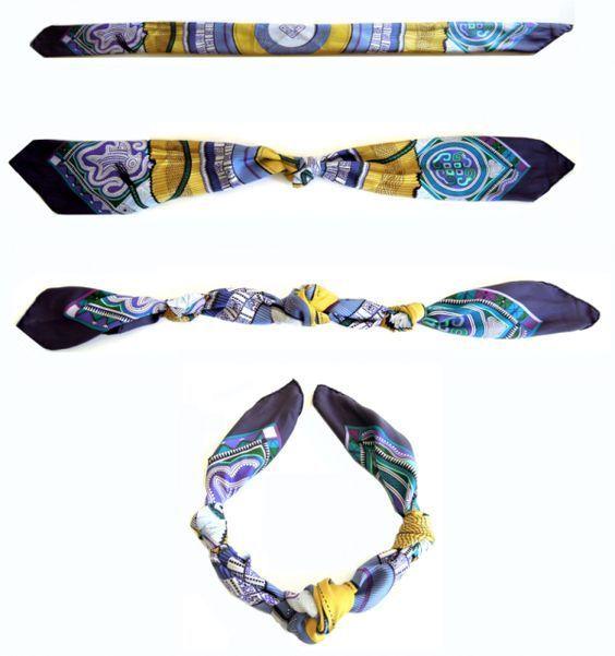 cliomakeup-accessori-economici-31-collana-foulard | Sciarpe hermes, Indossare una sciarpa e ...