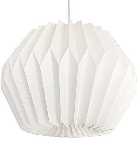 Origami lampada, paralume di carta, Ø 35cm, ***con cavo e... https://www.amazon.it/dp/B01N8U2Q4H/ref=cm_sw_r_pi_dp_x_KHhUybN7C7MXV