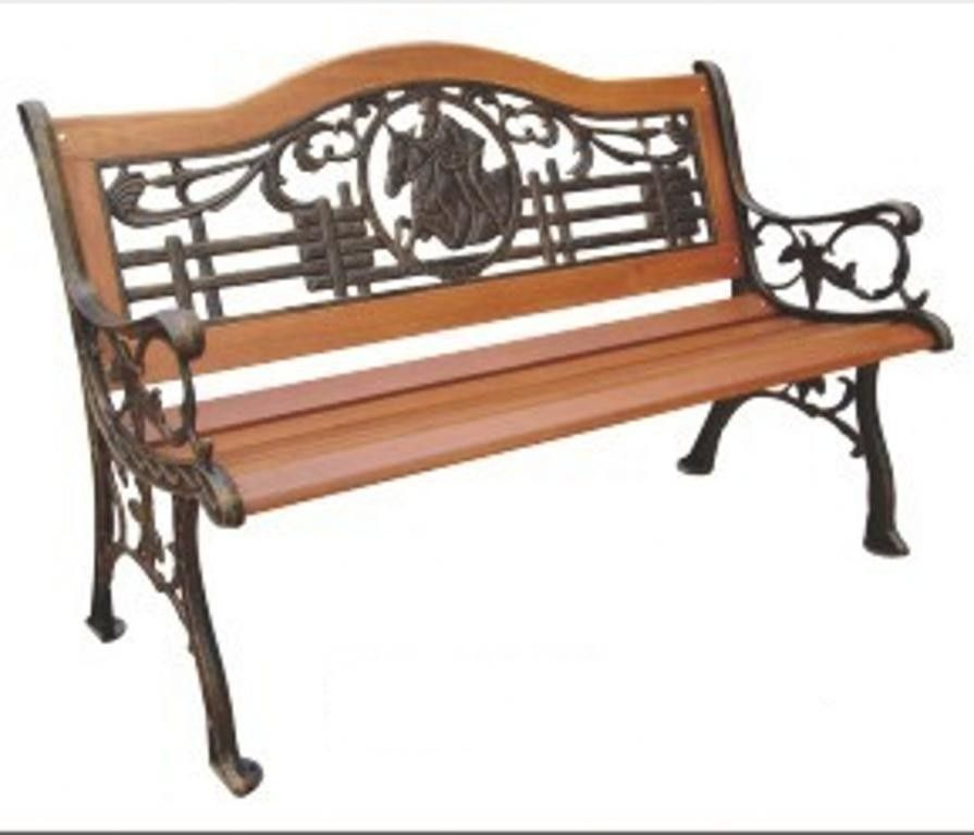 Polo Wood And Metal Park Bench Products