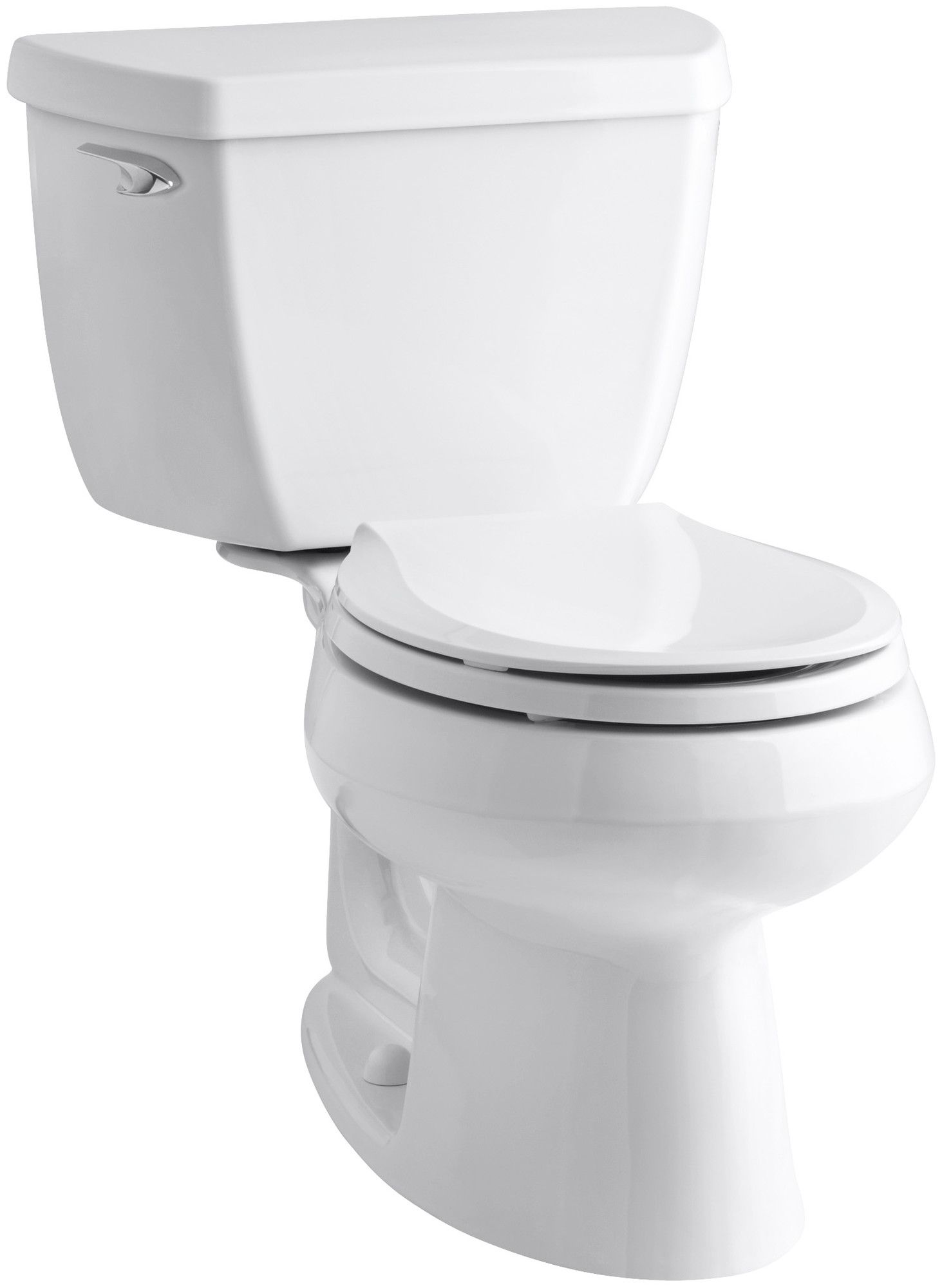 Wellworth Classic Two Piece Round Front 1 28 GPF Toilet with Class