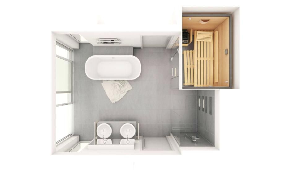 Uncategorizedherrlich Planungsideen Unglaublich Badezimmer Grundriss Large Klafs Size Qm Ofgru Bathroom Floor Plans Sauna Design Bathroom Inspiration