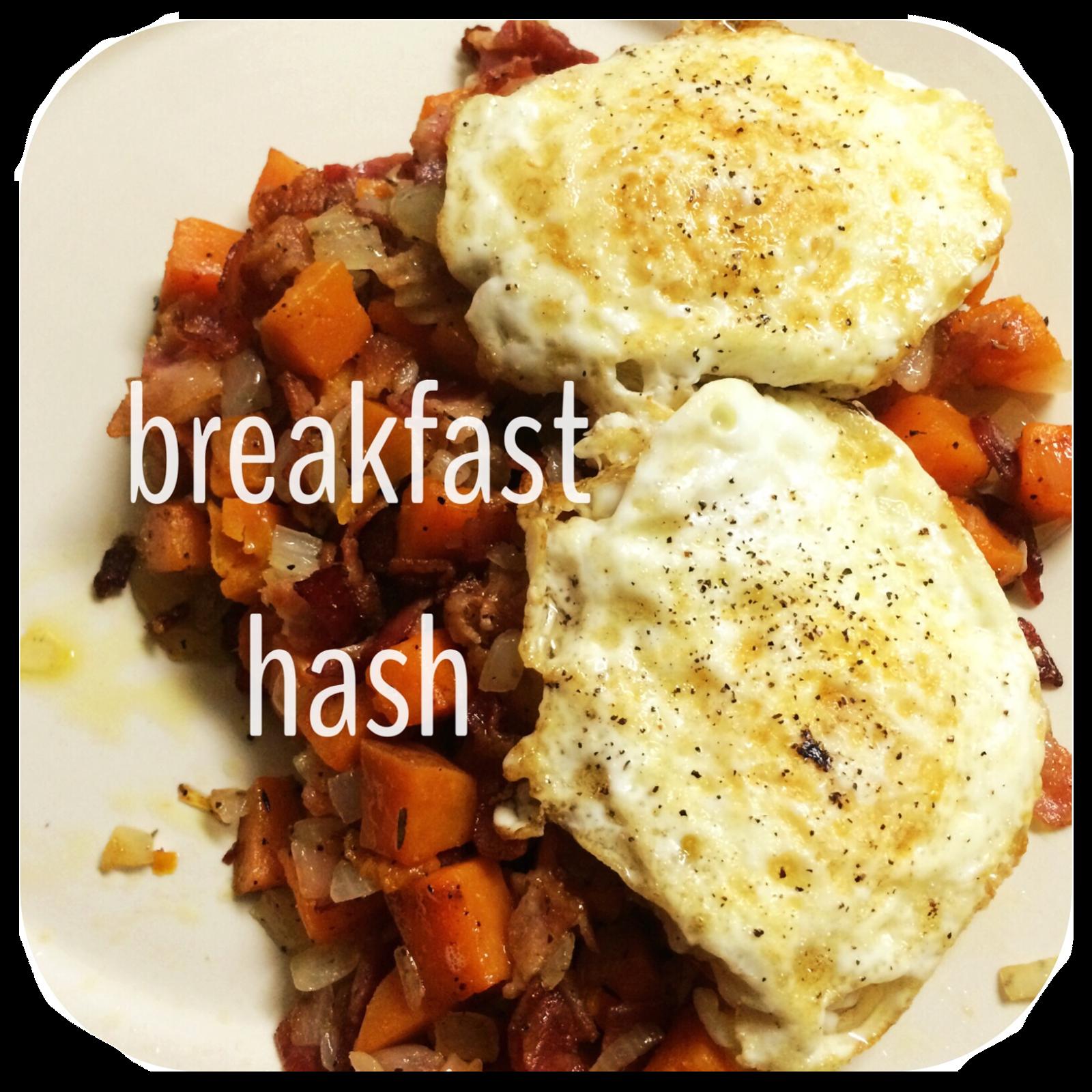 Sweet potato breakfast hash. yummm...  20 SOMETHING + 30 SOMETHING: Sunday Supper: Sweet Potato Breakfast Hash