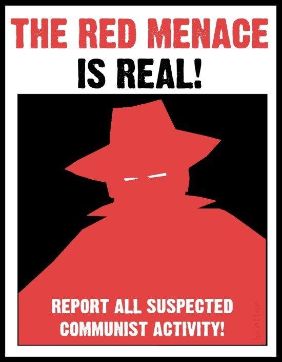 Example Of Propoganda About The Red Scare Of The 1920 S Cold War Propaganda Cold War Communist Propaganda