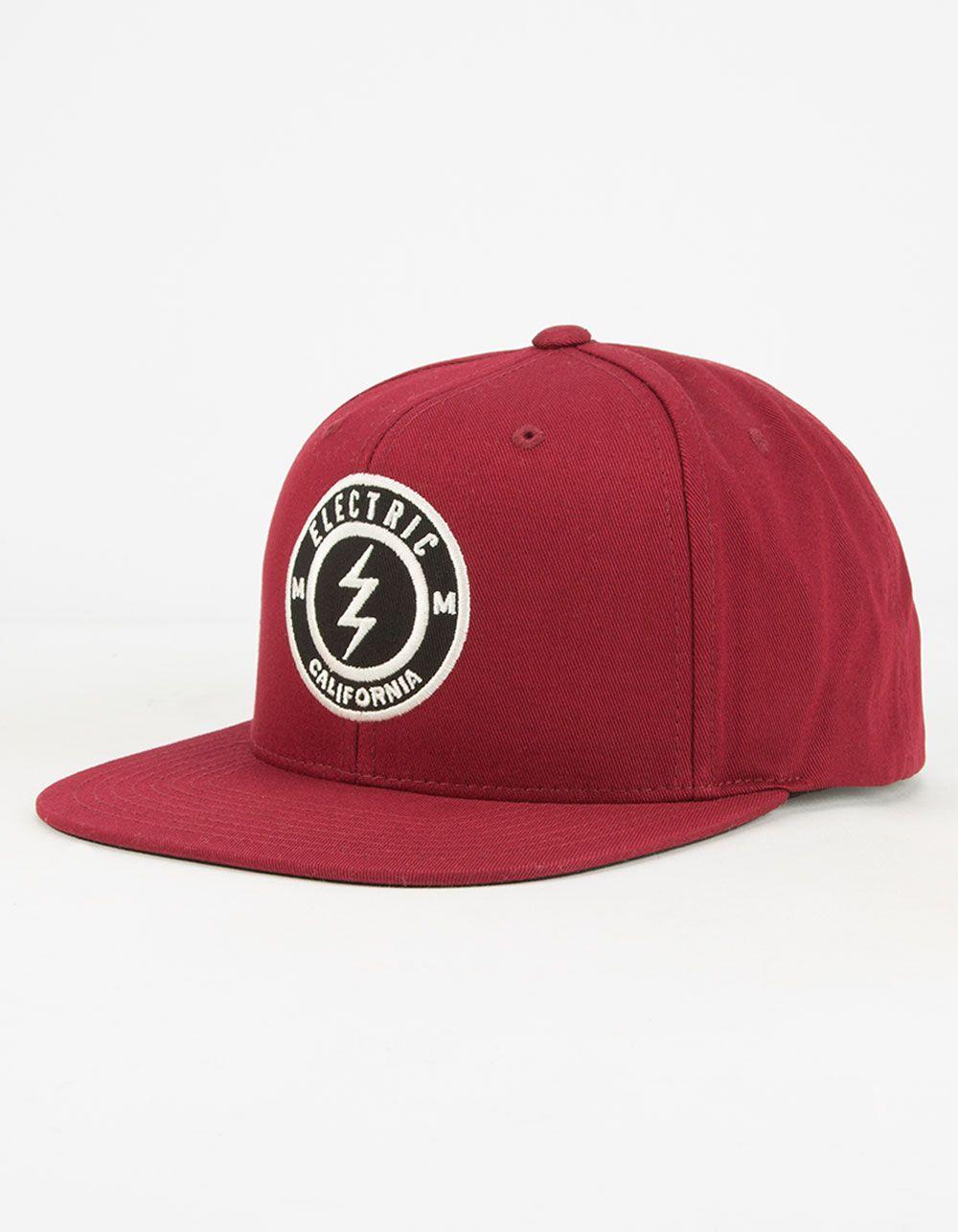 93cd763b9b21 Electric Pensacola II snapback hat. Electric logo embroidery on ...