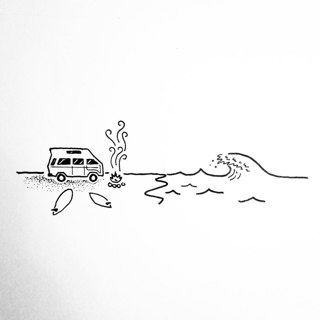 Drawing Lines Surf Movie : Consulta esta foto de instagram david rollyn