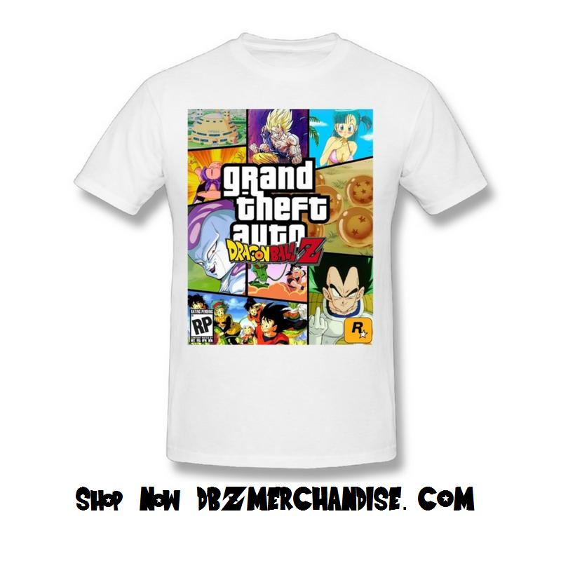 cfbd24e9 DBZ GTA Themed T-Shirt #gta#dbz #gta5 #games #dragonballz #dragonballsuper # dragonball #pinoftheday #dragonballgt #goku #vegeta #trunks #gohan  #supersaiyan ...