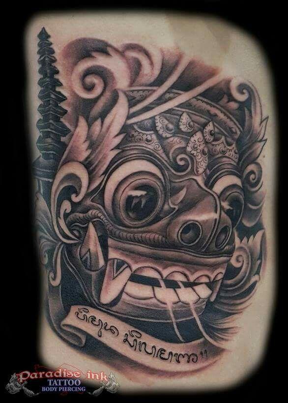 Bali Mask Temple By Pa Udy Tato Dada Seni Gambar Karakter