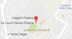 Mapa de The Laxmi Niwas Palace