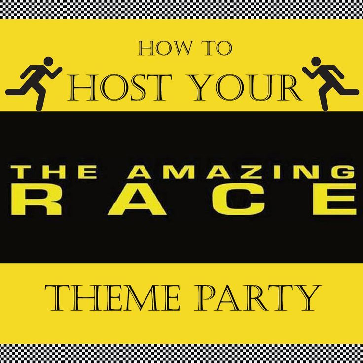 Amazing race party prizes for teens